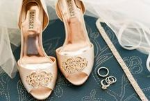 Head Over Heels. / A collection of shoe inspiration for the Brides' big day.