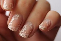 Polish Me Pretty. / A collection of wedding day nail art.