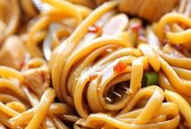 Use Your Noodle / Pasta dishes and other dishes involving noodles.