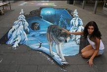 sidewalk art / by Tammy Bloome