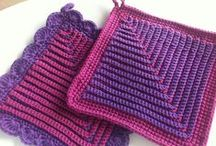 CROCHET KRAZY~Kitchen~Potholders,Hotpads, Mitts / Crochet patterns for Hot Pads, Potholders, Dishcloths, Tea Cozy's, and other kitchen accessories.  / by Donna Medley