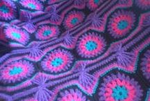 CROCHET KRAZY~AFGHANS & THROWS / This board is made up of afghan, throw, & bedspread patterns I have found available free for the using. If it isn't a free pattern, then I probably have bought the pattern and have it in my collection.