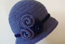 CROCHET KRAZY~Accessories~Hats~Ladies, Teens / Things to wear on your head. ;) / by Donna Medley