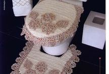 CROCHET KRAZY~Bath~Spa Items / by Donna Medley