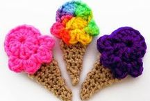 CROCHET KRAZY~Embellishments~Flowers / by Donna Medley