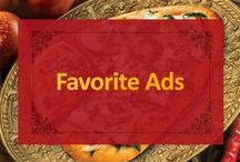 Favorite Ads / Here a couple of our favorite ads promoting our authentic Indian cuisine.