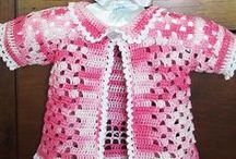 CROCHET KRAZY~CHILDREN'S~CLOTHING / Any child's crochet pattern that doesn't fit on any of the other boards.
