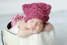 CROCHET KRAZY~ACCESSORIES~BABY HATS & HEADBANDS