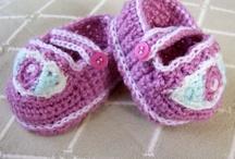 CROCHET KRAZY~BABY~BOOTIES & SHOES