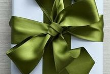 Wrapping gifts / by Dana Reeves