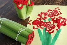 Crafts for Kids / The Gardner School teachers and students create a ton of great crafts, paintings and artwork. Peruse here for a few ideas!