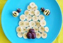 """Easy Kid-Friendly Snacks / With these tasty treats, your kids will be saying, """"More, please!"""""""