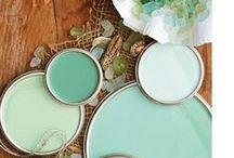 a q u a - i s h / aqua / turquoise / mint / by t h e f u l l e r v i e w