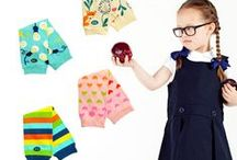 Back to School / Wow, summer went by quickly! It's already back to school time! BabyLegs Classics Collection contains solid ribbed legwarmers that go with a variety of school uniforms. These warmers are perfect for cool mornings at the bus stop.