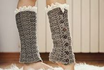 CROCHET KRAZY~Accessories~Leg Warmers for All Sizes