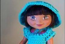 CROCHET KRAZY~Doll Clothes~Dora