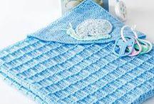 CROCHET KRAZY~Baby~Hooded Blanketst
