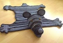 CROCHET KRAZY~BABY~BLANKETS with HEADS, PAWS & FEET