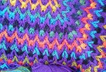 Afghans to crochet