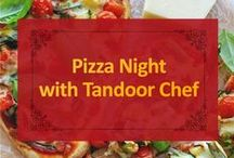 Pizza Night with Tandoor Chef / Change up your traditional pizza night with a Tandoor Chef Naan Pizza!
