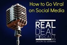 The Real Deal Podcast / Listen to replays of some great interviews with entrepreneurs and business owners who are the real deal!