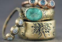 Jewels|Gems|PreciousMetal / Bijoux / by Nicki McRae