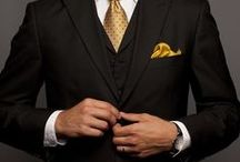 Oh, How We Love Our Handsome Men! / ~Style and Sophistication by Men~ Daring, Sexy and Classy~ / by Cherie Long