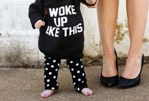Babes: Clothing / Fashion inspiration for the little ones. / by Nicole B.