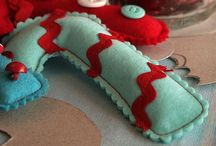 Turquoise & Red Christmas / Something different  / by Stefanie Pawlosky