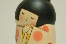 Kokeshi / Κούκλες
