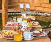 Exceptional breakfast / Exceptional breakfast is served on your terrace with a view on nature or you can enjoy your breakfast in bed.