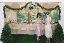 outdoor wedding decor / by Annie Packman