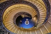 GRAND STAIRCASES | STAIRS / by Mari Garcia Design
