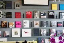 INTERIOR | BOOKSHELVES & LIBRARIES / by Mari Garcia Design