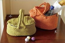 More T Shirt Yarn ideas / Inspiration of what you can make with upcycled t shirt yarn
