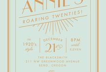 Roaring 20's Birthday Party / by Annie Packman
