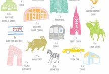 Illustrations/ posters - of places / by ph Gooi