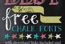 Typography & Fonts / Fab Fonts and Typography
