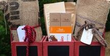 Coffee samplers and boxes / baskets! / #gifts for #coffee lovers! #basket #thequeenbean #samplers
