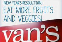 A Wholesome New Year / What's your New Year's resolution? We'll help you tips and wholesome recipes to make your food-focused resolutions obtainable! / by Van's Foods