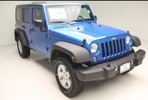 Jeep Wrangler / Pick you out a Wrangler from Vernon Auto Group! Come on, you know you want one.