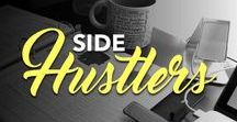 Side Hustlers | Mompreneurs, Employees + More / Your business may not be your full-time work, but you sure in hell make it stellar. This board is for you.