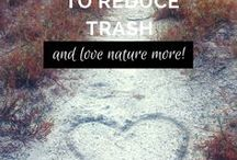I Love Nature! How to Be Earth Friendly / Earth Friendly resources, environmental tips, natural beauty, reducing trash, and going green!