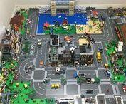 Città Lego JHBC / My Lego city! Minha cidade Lego! La mia città di Lego!