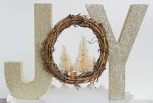 Christmas Decor & DIYs / Christmas, holidays, country christmas, rustic Christmas, Christmas crafts, Christmas DIY, Christmas decorations, Christmas decor