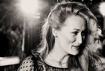 heroes, role models, etc. / also idols, gods, and crushes (aka Meryl Streep) / by Courtney Chirpich