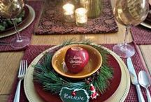 """Christmas Fruit Ideas / For a healthier holiday, how about the gift of apples? We suggest Fun to Eat Fruit with your family monogram, cute snowman, or Christmas greeting such as """"Healthy Holidays."""" Perfect for stocking stuffers or a bowl of fruit on your Christmas buffet."""