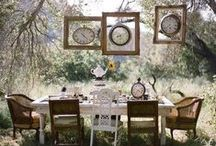 Party tables / Beautiful and fun party themes  / by Kim Hochman Aguayo