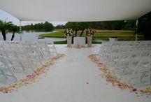 Hyatt Regency Grand Cypress Weddings / Orlando Harpist - Hyatt Regency Grand Cypress wedding photos with lakefront ceremony gazebo. #Orlando #harpist