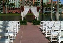 Disney World Swan & Dolphin Weddings / Orlando Harpist - Disney World Swan and Dolphin Hotel, a Florida wedding location  #swananddolphin #Disney #wedding #disneywedding #Orlando #harpist